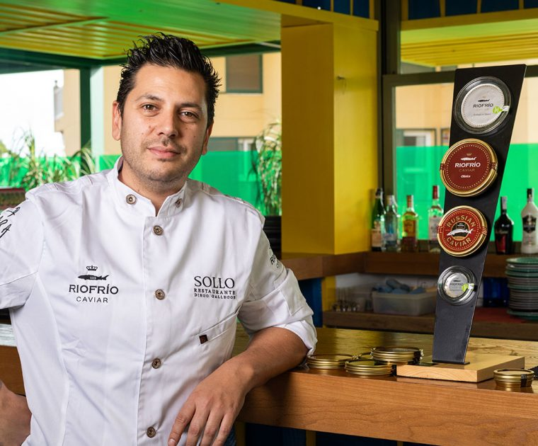 Diego Gallegos | Secrets | Recipes with Caviar de Riofrío